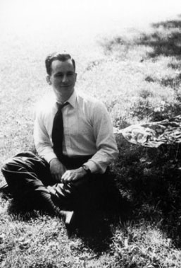 Enrique Shaw en el parque