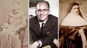 Fray Mamerto Esquiú, Enrique Shaw y Madre Camila Rolón
